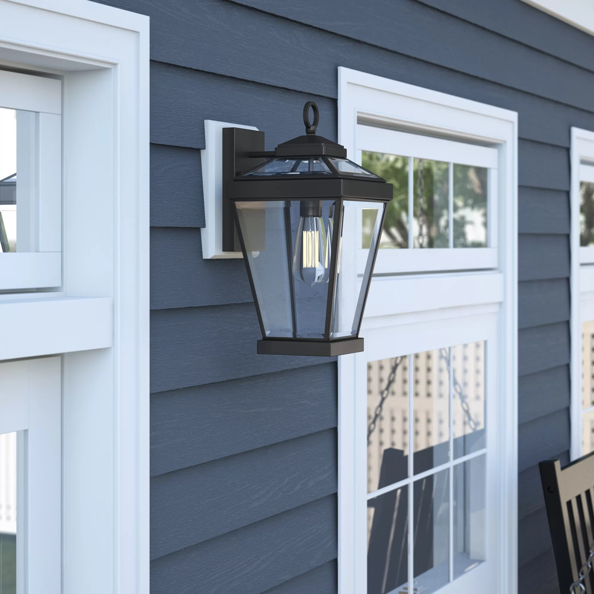 cottage country outdoor wall lighting