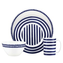 Charlotte Street North 4 Piece Place Setting, Service for 1