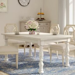 Antique White Living Room Tables Brick Wall Tiles In Dining Table Wayfair Artur Extending