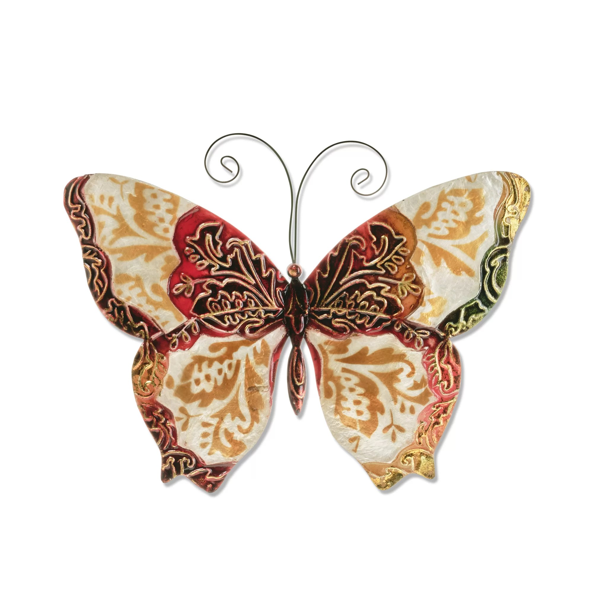 August Grove Butterfly Wall Décor Reviews Wayfair Ca