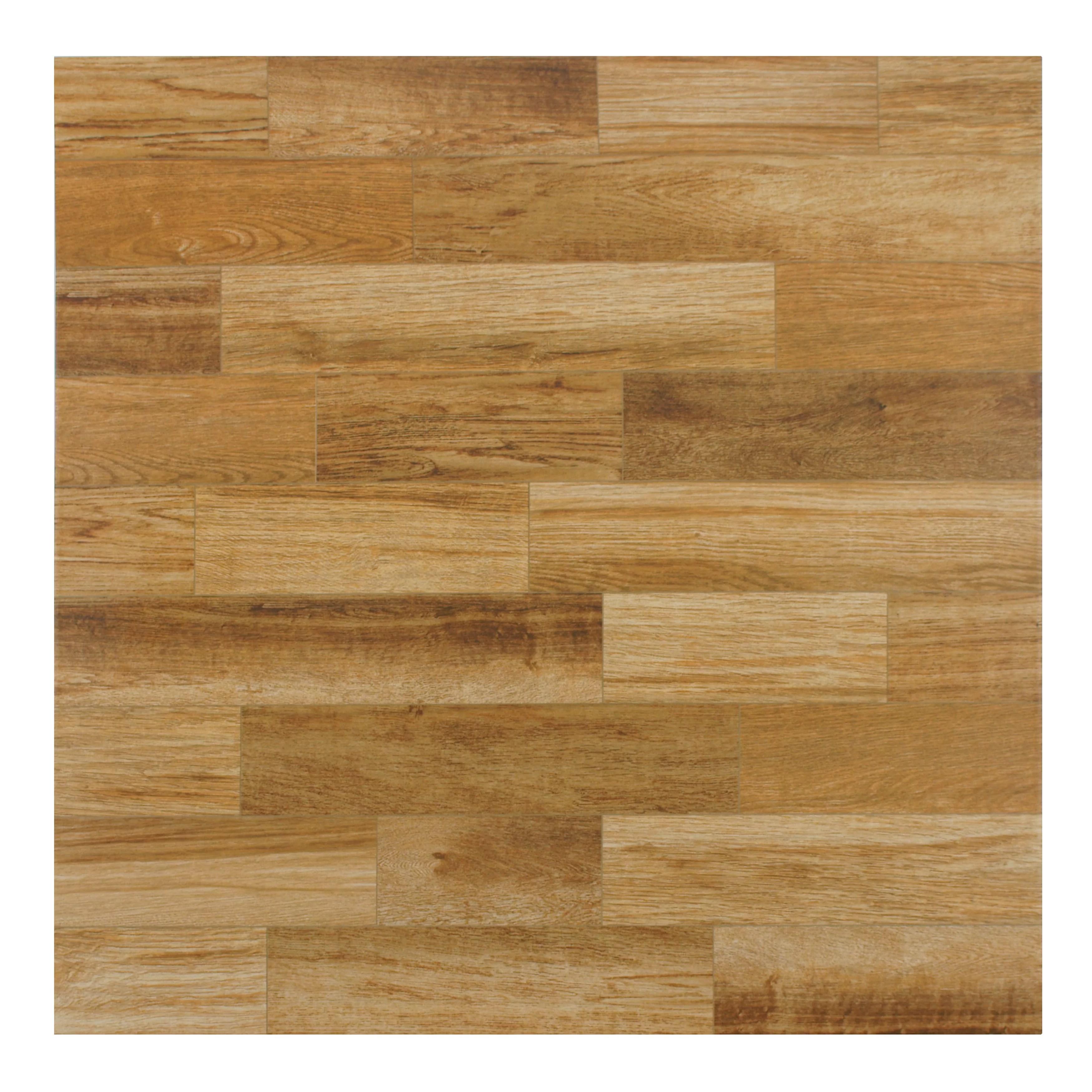 alpino 18 x 18 ceramic wood look wall floor tile