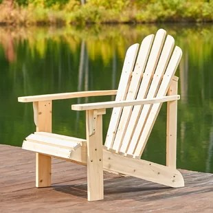 adirondack chair wood best captain chairs for boats you ll love wayfair quickview