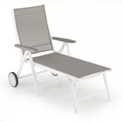 Outdoor Chaise Lounge Chairs With Wheels Swivel Chair Konga Wayfair Cotner Reclining