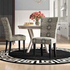 Parson Chairs Cheap Leather Recliner Modern Uk Willa Arlo Interiors Sture Damask Print Chair Reviews Wayfair