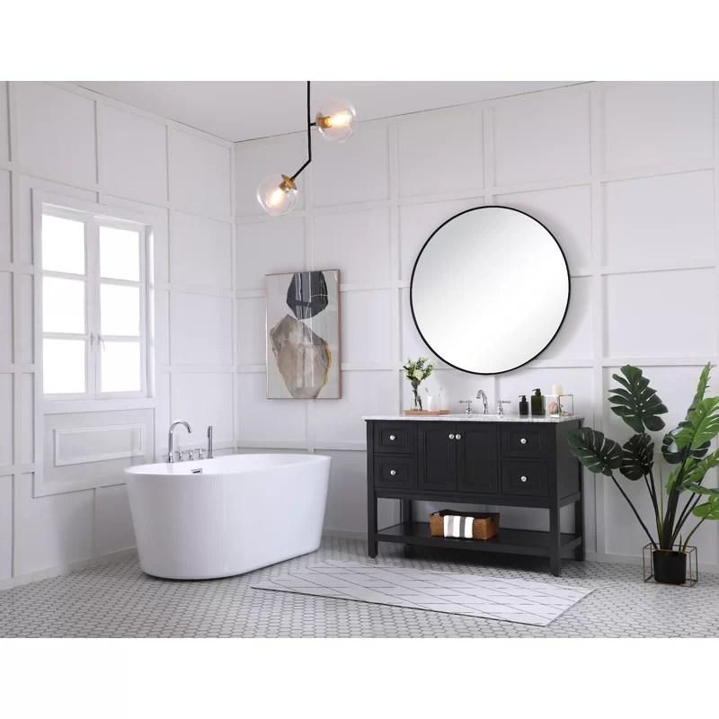 Joss Main Sara 48 Single Bathroom Vanity Set Reviews Wayfair