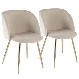 beige dining chairs chair cover rentals langley modern allmodern quickview