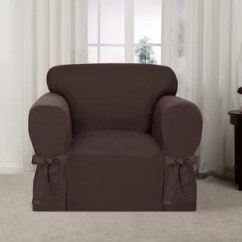 Armchair Sleeves Chair 1 2 Slipcover Slipcovers You Ll Love Wayfair Quickview