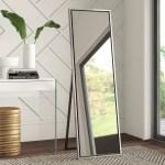 Silver Floor Mirrors You Ll Love In 2021 Wayfair