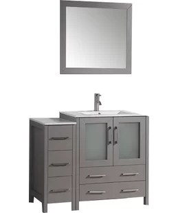42 inch bathroom vanities | joss & main