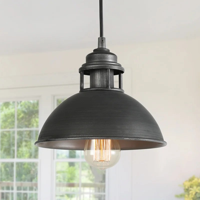 artimacormick 1 light single dome pendant