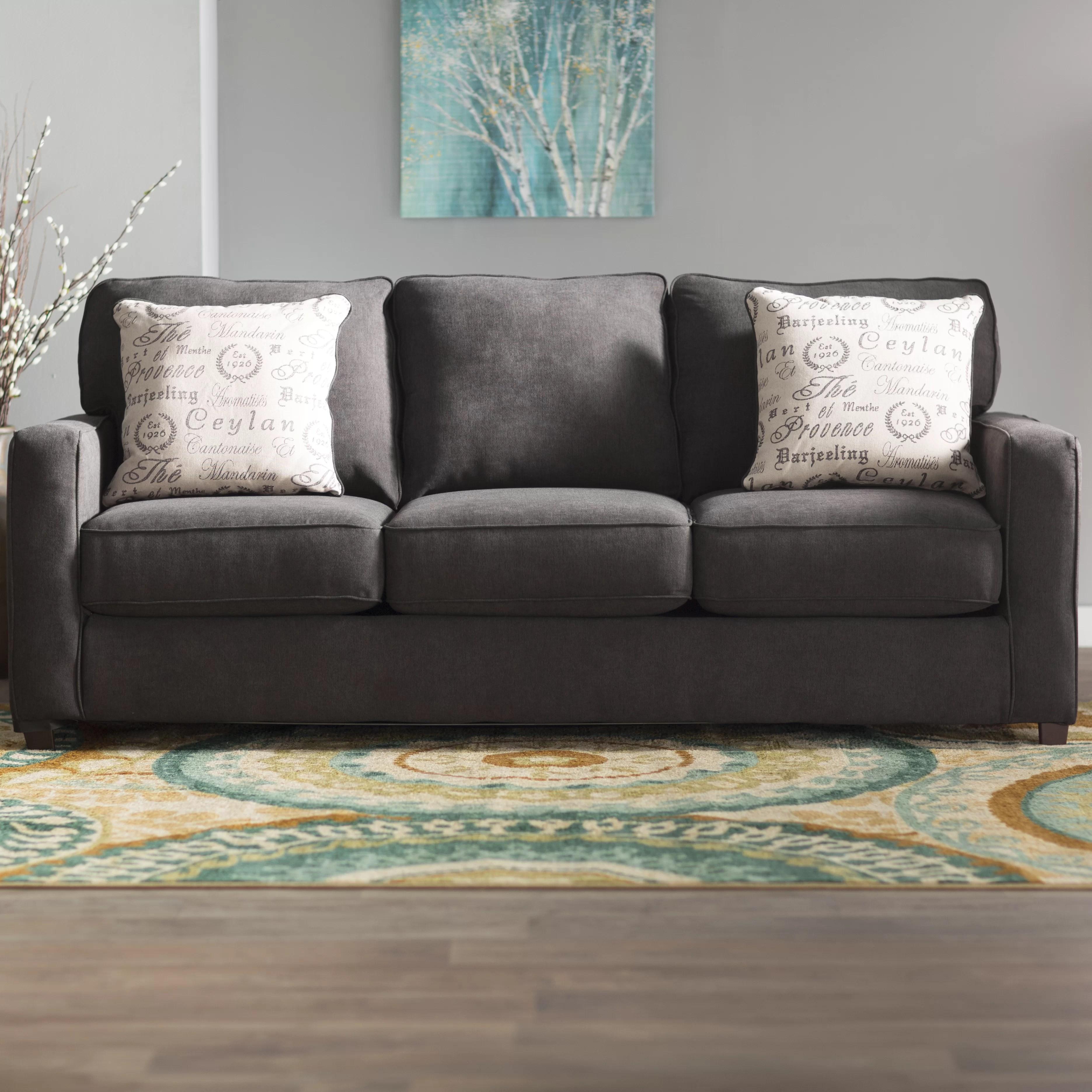 sleeper sofas chicago il thomasville maribel sofa andover mills deerpark quint queen reviews wayfair
