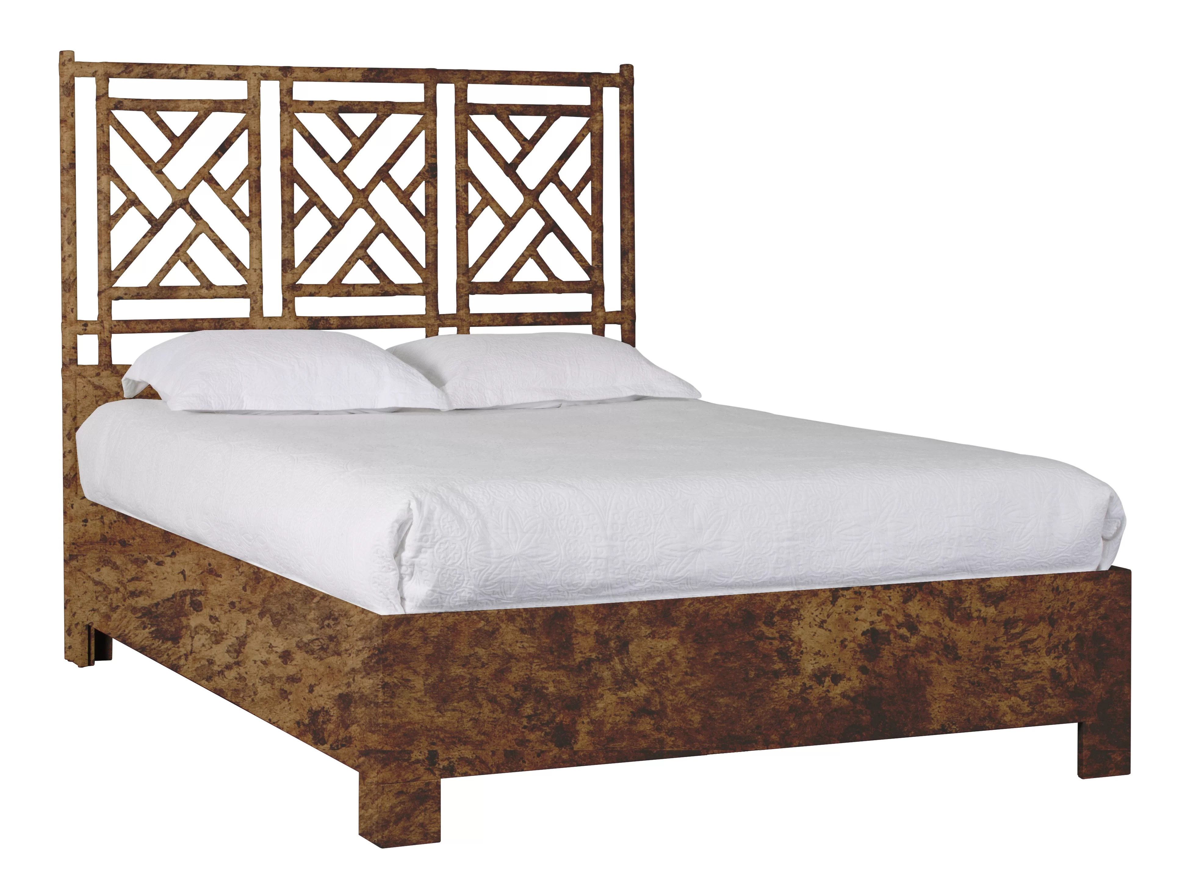 chippendale chinese standard bed
