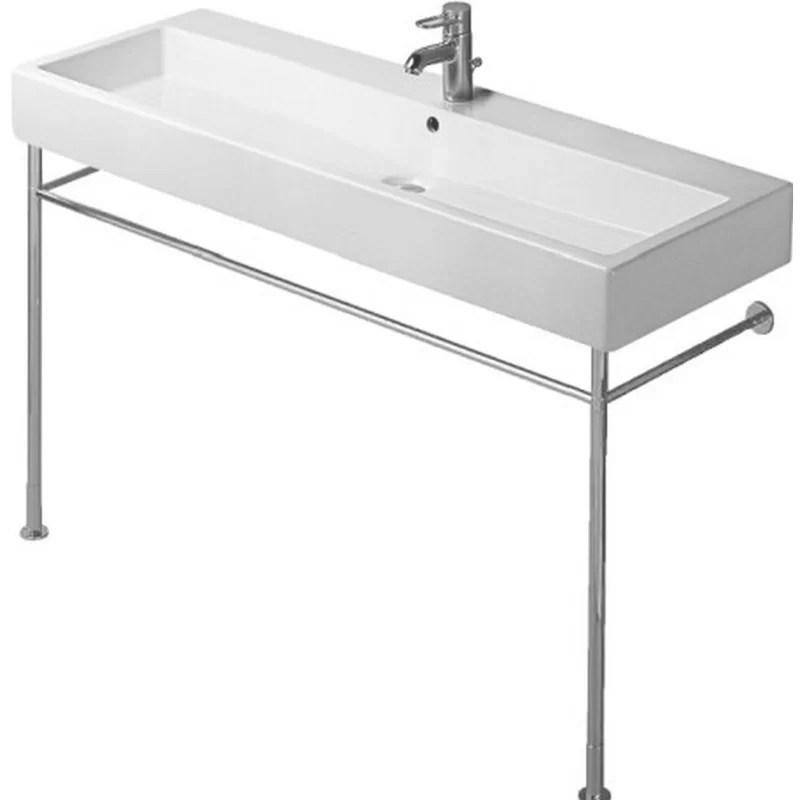 Vero Metal 48 Console Bathroom Sink Base