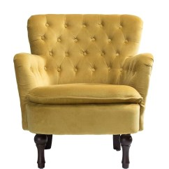 Tufted Yellow Chair Tommy Bahama Chairs Velvet Wayfair Quickview