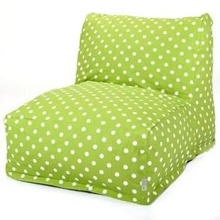 green bean bag chair swivel uae lime wayfair quickview