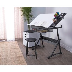 Drafting Table Chairs Baby Egg High Chair Studio Designs Fusion And Stool Set Reviews Wayfair
