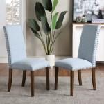 Red Barrel Studio Philbert Upholstered Dining Chair In Blue Wayfair