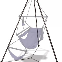 Hanging Chair Stand Bean Bag Chairs Hammaka Aluminum Hammock Reviews Wayfair