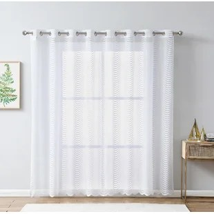 abstract patio sliding door curtains
