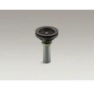duostrainer manual kitchen sink strainer with tailpiece
