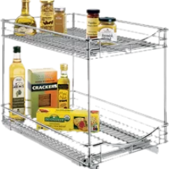 Kitchen Storage Racks Cream Colored Appliances You Ll Love Pantry Organization