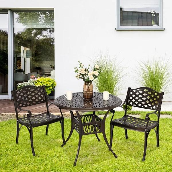 3 piece outdoor patio set