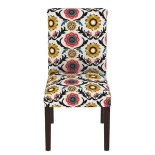 floral print accent chairs bean bag chair replacement covers red wayfair howardwick parsons