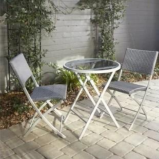 metal bistro chairs barber antique outdoor wayfair quickview