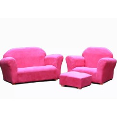 Pink Kids Chair Table And Chairs For Children Zoomie Jovanni 3 Piece Sofa Ottoman