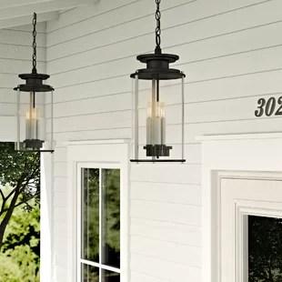 rustic outdoor hanging lights