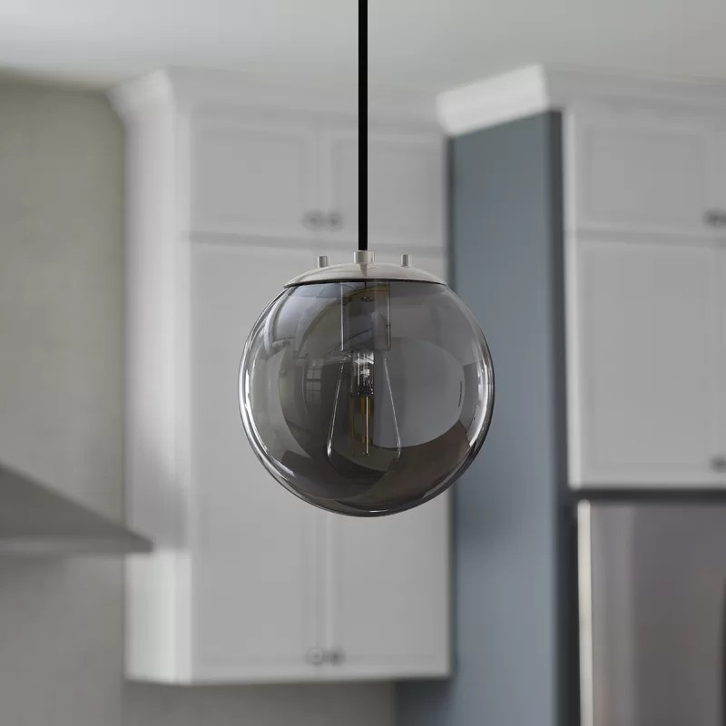 wysocki 1 light single globe pendant