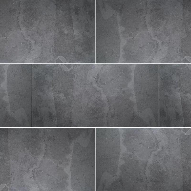 montauk 18 x 36 natural stone concrete look wall floor tile