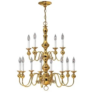 Ardmore 12 Light Candle Style Chandelier