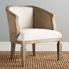 Bedroom Chair With Skirt Cushions For Dining Room Chairs Farmhouse Accent Birch Lane Wrentham Barrel