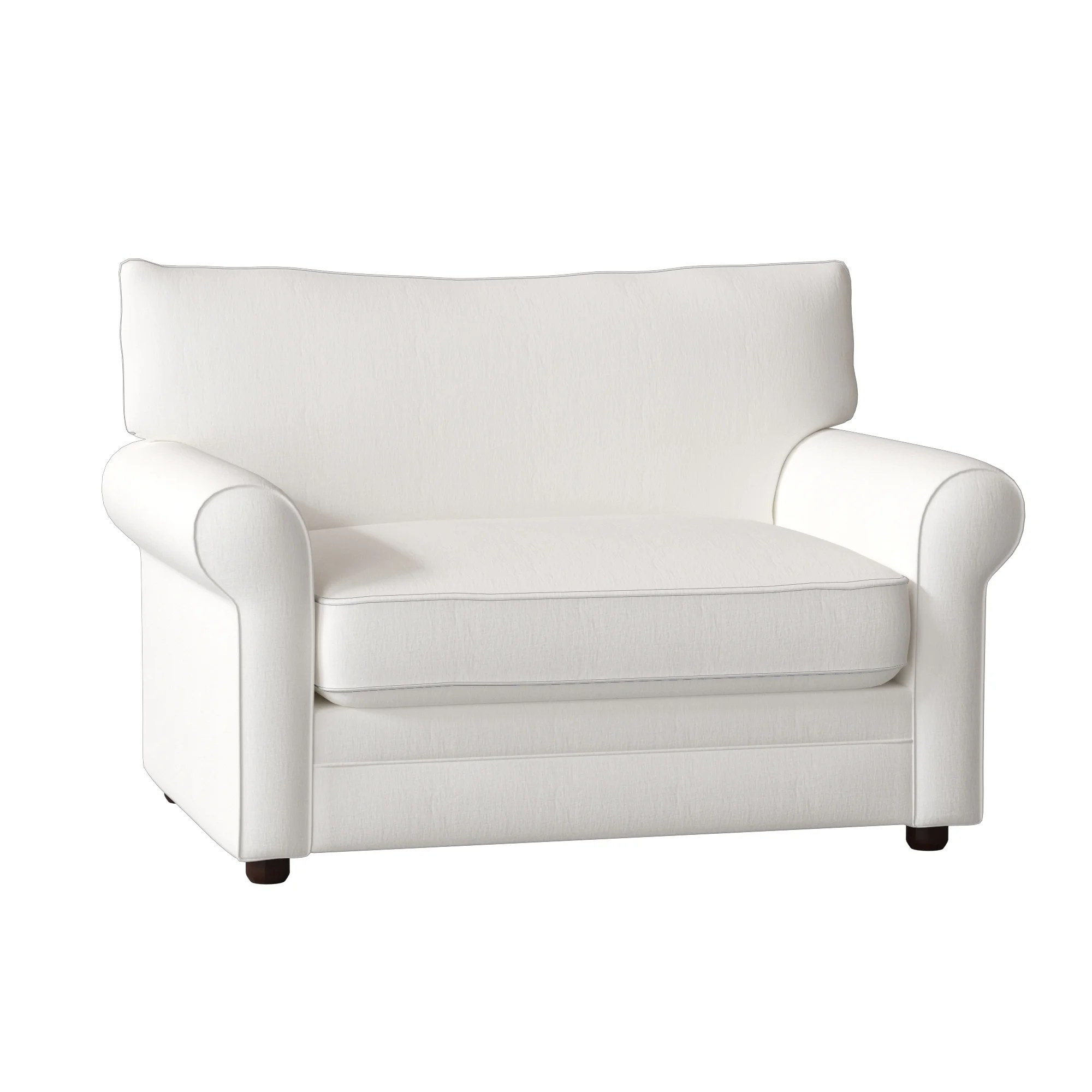 chair and a half sleeper ergonomic or gaming birch lane heritage newton reviews