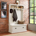Halstead Hall Tree With Bench And Shoe Storage Reviews Joss Main