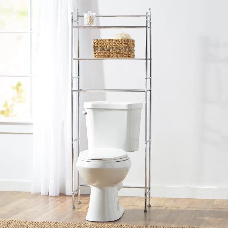 "wayfair basics™ wayfair basics 22.83"" w x 59.84"" h over the toilet"