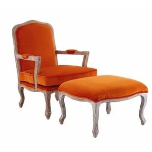 burnt orange armchair uk camo papasan chair wayfair co
