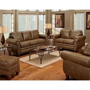 microfiber living room furniture pink and gold 4 piece set wayfair sedona by american classics