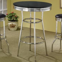 Retro Cafe Table And Chairs Comfortable Outdoor Lounge Pub Set Wayfair Quickview
