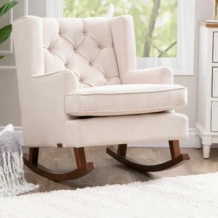 nursery rocking chair wayfair cover rentals uk navy quickview