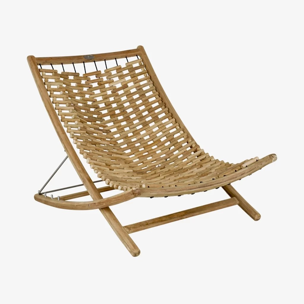 Teak Chaise Lounge Chairs Karly Xl Reclining Teak Chaise Lounge