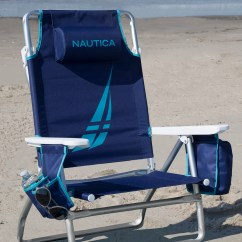 Nautica Beach Chairs Folding Tables And Set 5 Position Reclining Chair Reviews Wayfair