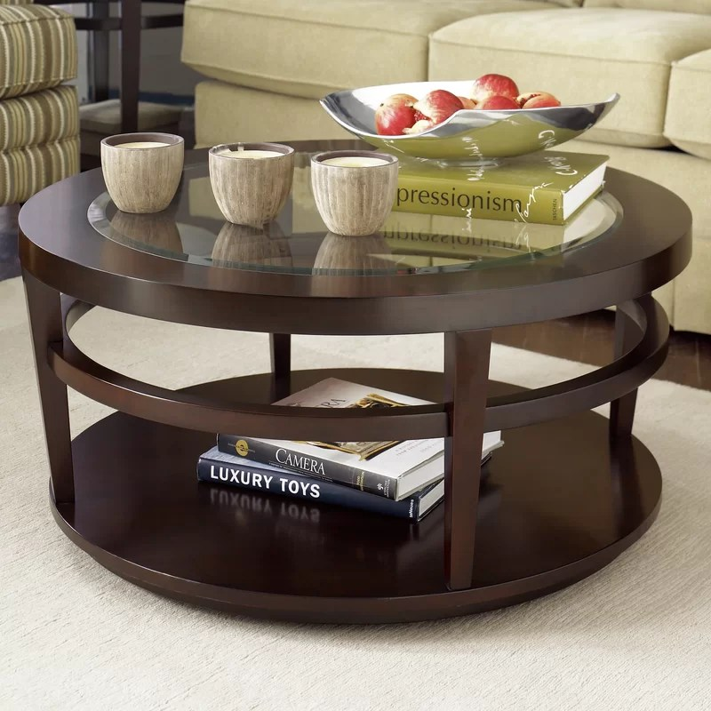 Oval Coffee Table With Storage Cabinet Doors