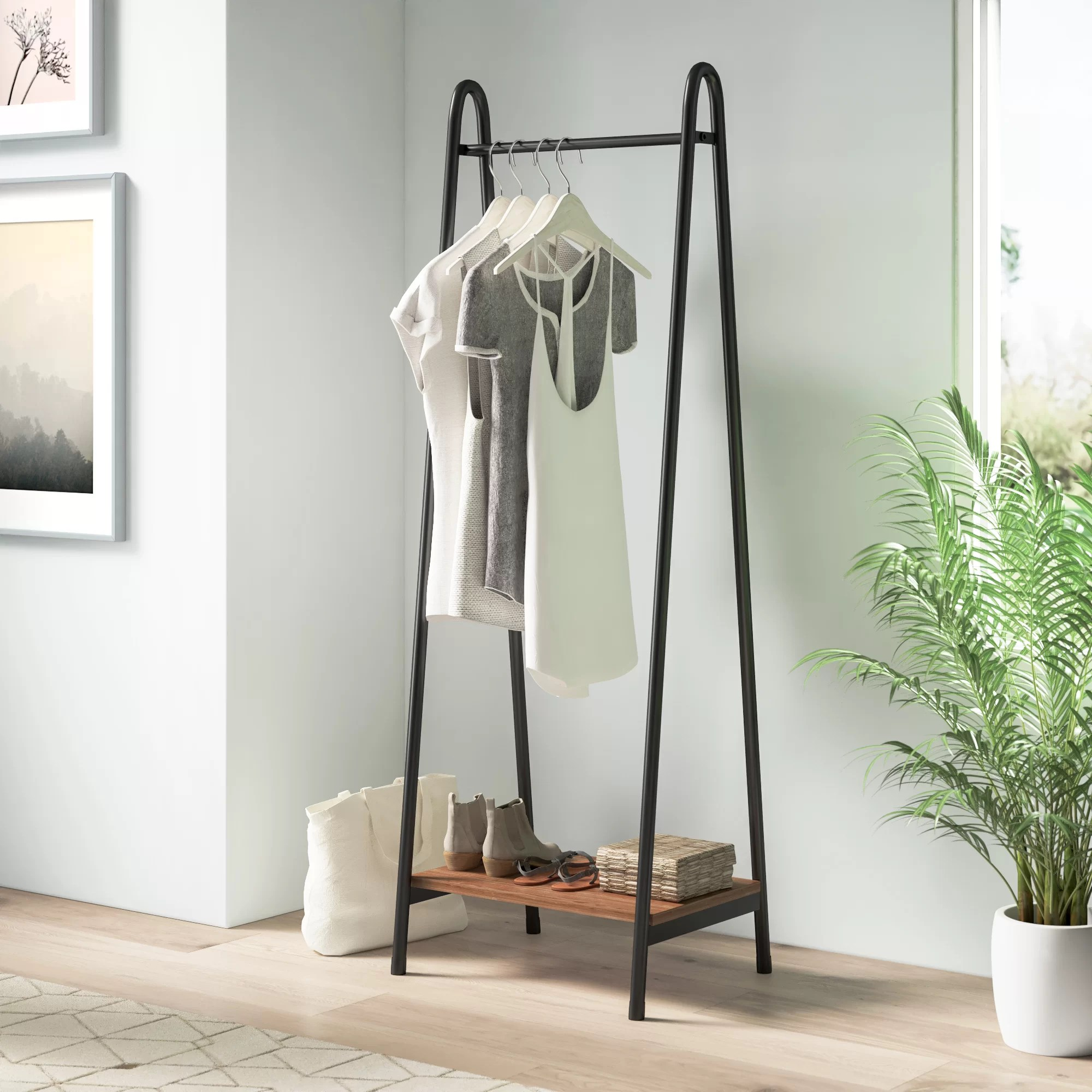 industrial pipe clothes racks garment