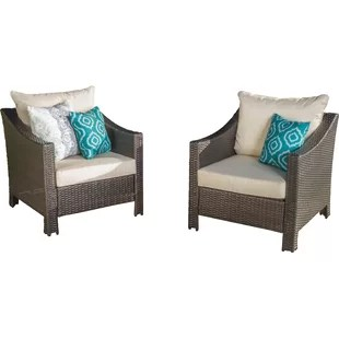 patio club chair wheelchair jacket lounge chairs joss main wolfhurst with cushion set of 2