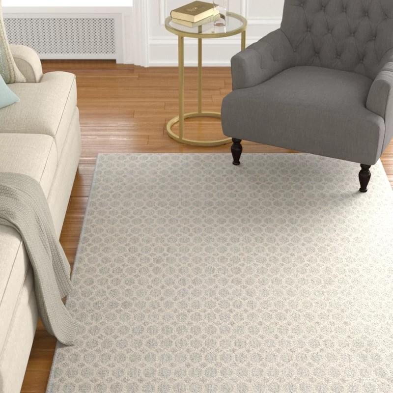 Casper Neutral Gray Indoor/Outdoor Area Rug Rug Size: Rectangle 4 x 6