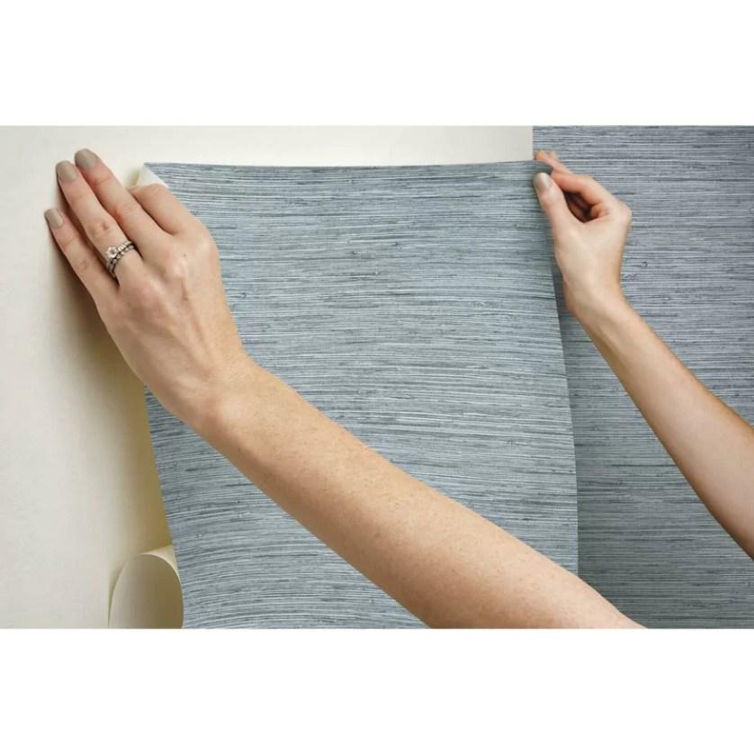 "Eske Smooth 16.5' L x 20.5"" W Peel and Stick Wallpaper Roll"