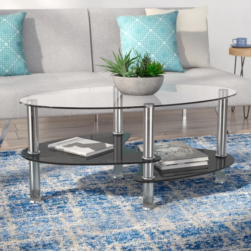 Kathlene Coffee Table with Storage