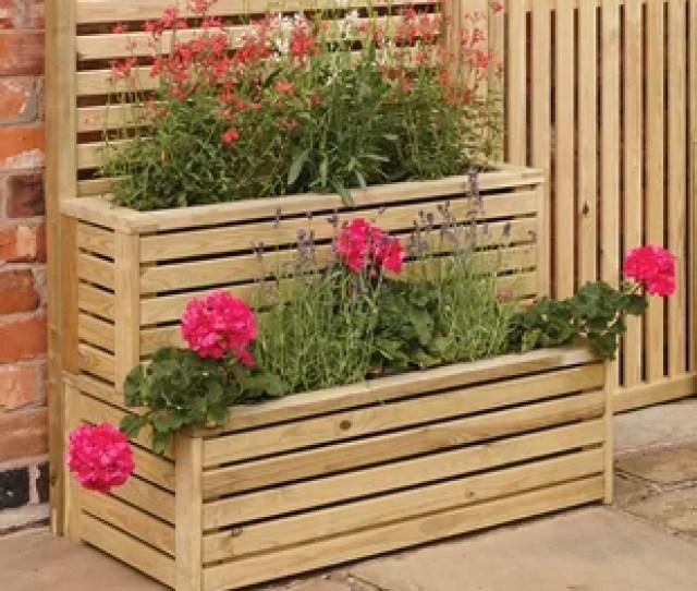 Adaline  Piece Rectangular Vertical Garden Set